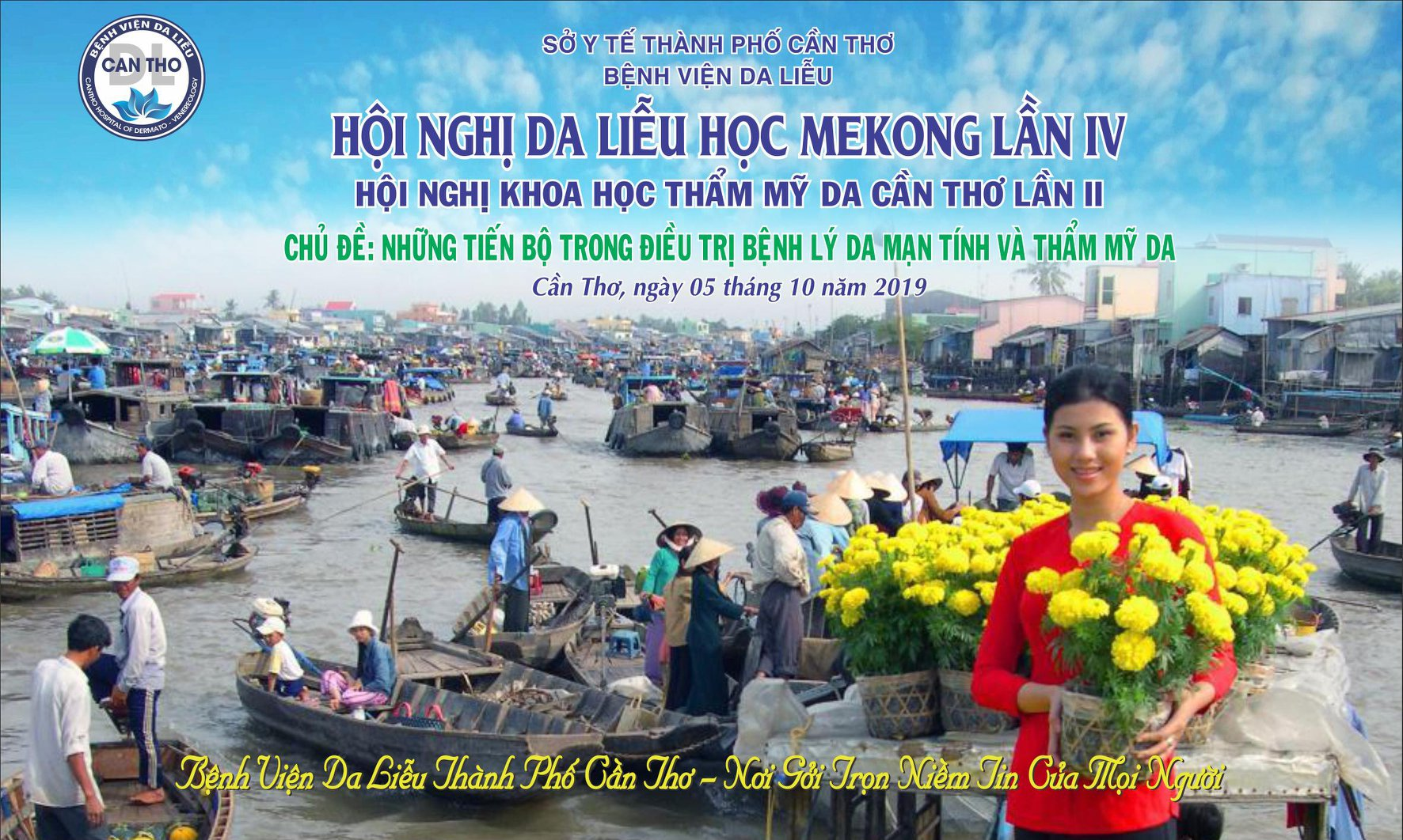 Hội nghị Da liễu học Mekong lần IV tại Cần Thơ - Hội Nghị Khoa Học Thẩm Mĩ Về Da Cần Thơ lần Thứ II